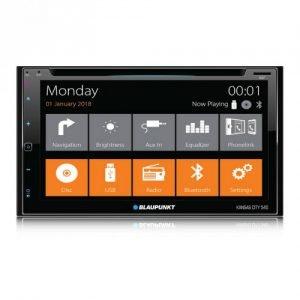 "BLAUPUNKT KANSAS CITY 540 6.8"" DVD Bluetooth GPS USB AUX Equalizer NAVIGATION"