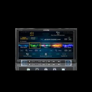 "Alpine ILX-702D 7""Apple CarPlay / Android Auto / HDMI / USB / Bluetooth / FLAC"