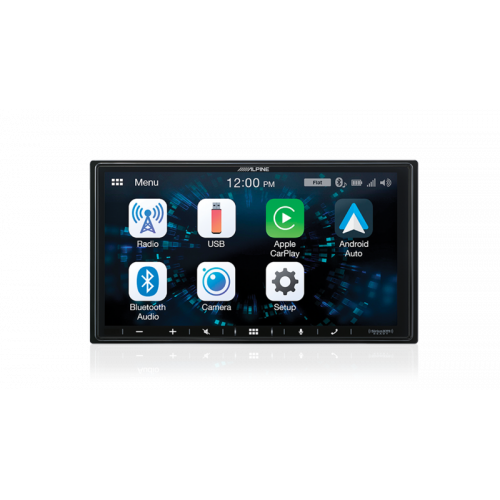 """Alpine iLX-W650E 7"""" Mech-Less Receiver with Apple CarPlay® and Android Auto™"""