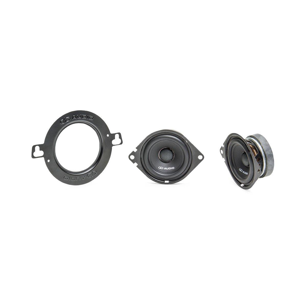 "DD Audio EX2.75 2.75"" 75w (25W RMS) 1 way Coaxial Car Speaker (pair)"