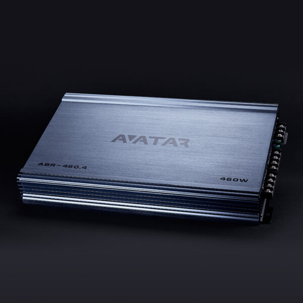 AVATAR ABR-460.4 CLASS AB 460 RMS 4 CHANNEL AMPLIFIER