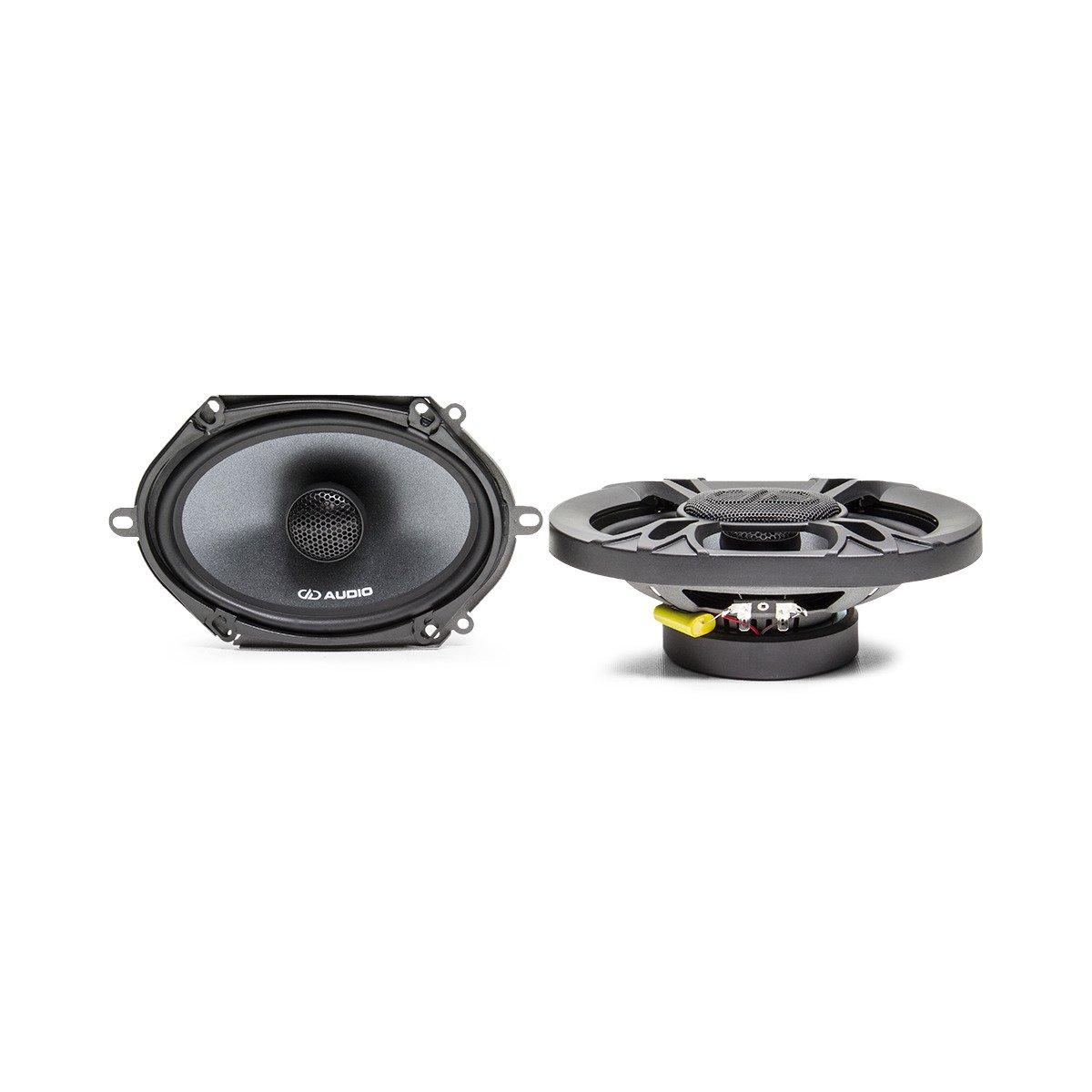 """DD Audio DX5X7 5x7"""" 150W (75W RMS) 2 Way Coaxial Car Speakers (pair)"""