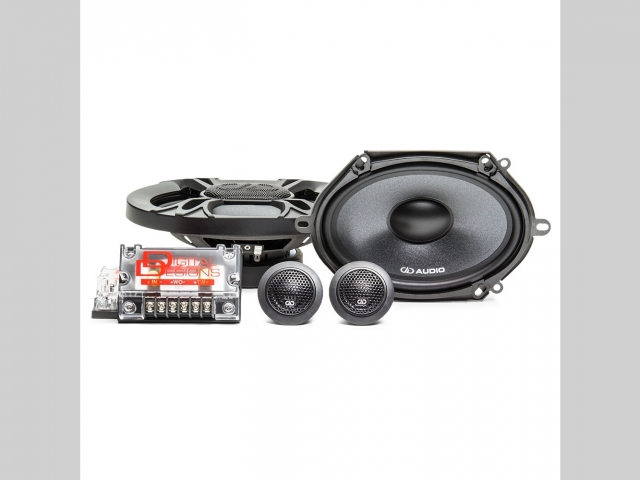 """DD Audio DC5X7 5x7"""" 150W RMS 2 Way Component Car Speakers (pair)"""