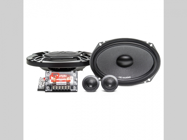 """DD Audio DC6X9 6x9"""" 150W RMS 2 Way Component Car Speakers (pair)"""