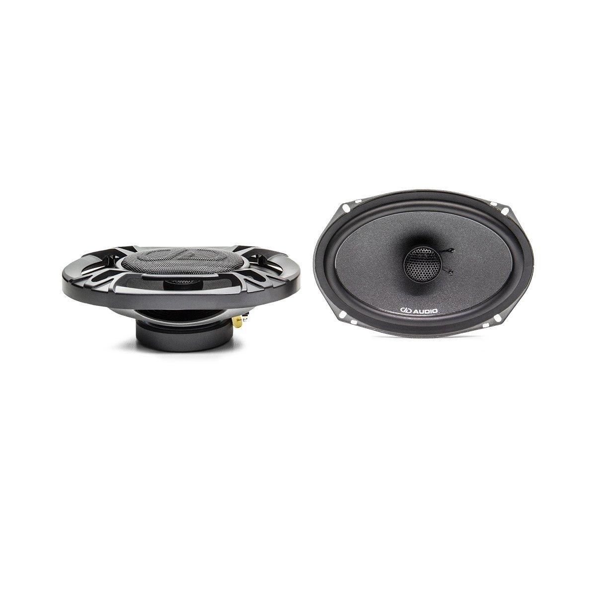 "DD Audio DX6X9 6x9"" 150W RMS 2 Way Coaxial Car Speakers (pair)"