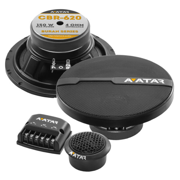 "AVATAR CBR-620 6.5"" COMPONENT SPEAKER (PAIR)"