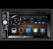 "Soundstream VR-620HB 6.2"" Touchscreen 2-DIN DVD, CD/MP3 Car Stereo w/ Bluetooth"